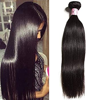 UNice Hair Icenu Series 10a Malaysian Straight Hair 1 Bundle Virgin Unprocessed Human Hair Weft Extensions Natural Color  26inch