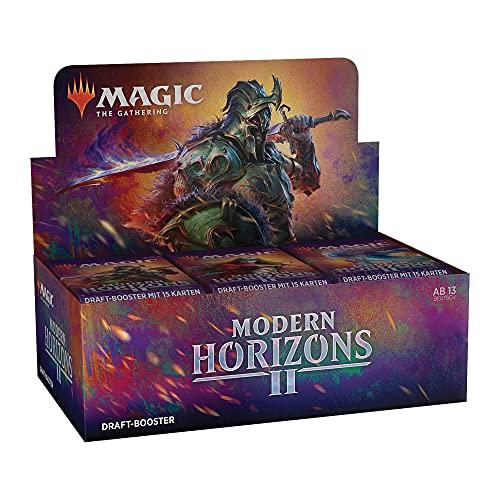 Magic the Gathering Modern Horizons 2 Draft Display, 36 Booster (Deutsche Version)