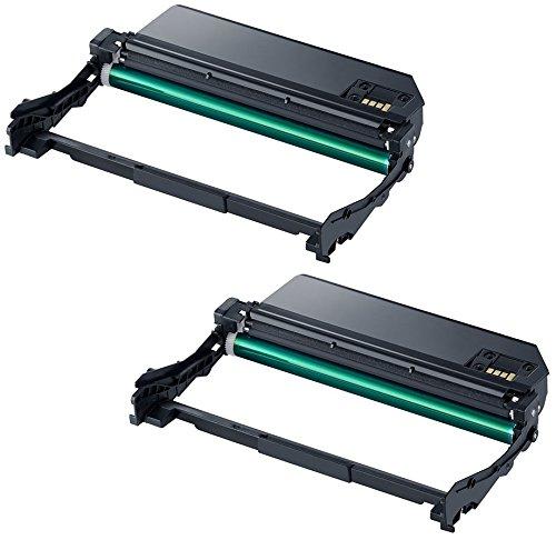 2X Trommeleinheit kompatibel zu Samsung MLT-R116 für Samsung Xpress SL-M2625 M2625D M2675FN M2825DW M2825ND M2835DW M2875FD M2875FW M2875ND M2885 M2885FW - Schwarz, hohe Kapazität (9.000 Seiten)