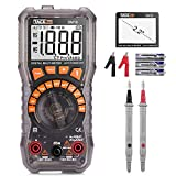 Tester per batterie, TACKLIFE DM10 multimetro digitale tester per batterie, AC/DC Tension...