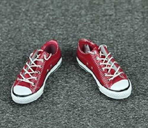 Tytlmask model voor kleding, schaal: 1/6, modieus, dames, sneakers, rood, 12 inch