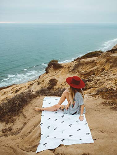 Large Beach Towel Microfiber & Oversized -73'X36'   Beach Towel. Quick Dry. Best for Outdoor & Camping, Lightweight, Quick Drying & Super Absorbent Technology