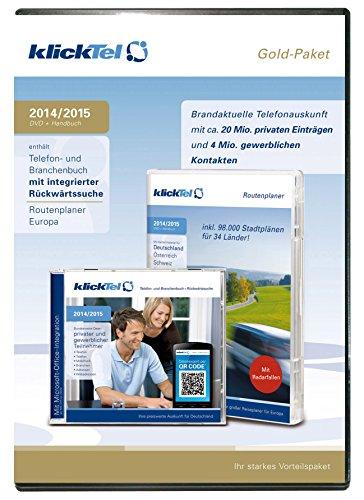 klickTel Gold-Paket 2014/2015 [import allemand]