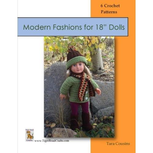 Crochet Doll Clothes Patterns Amazoncom