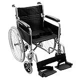 NRS N43723 Transit-Lite - Silla de ruedas autopropulsada - Gris (equivalente a la...