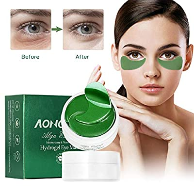 Collagen Under Eye Patches for Puffy Eyes - 30 Pairs Anti-Aging Hyaluronic Acid Under Eye Treatment Masks for Lifting, Reducing Dark Circles, Anti-Wrinkles and Fine Lines