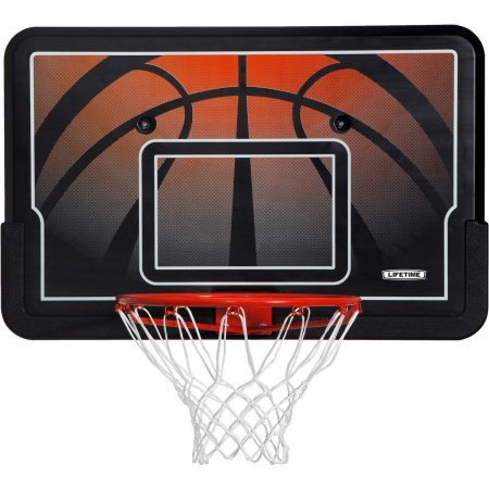 Lifetime 44' Impact Backboard and Rim Basketball Combo, 90703
