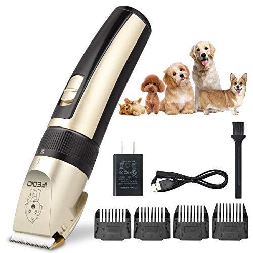 TXPY Professional Dog Clippers Rechargeable Dog...