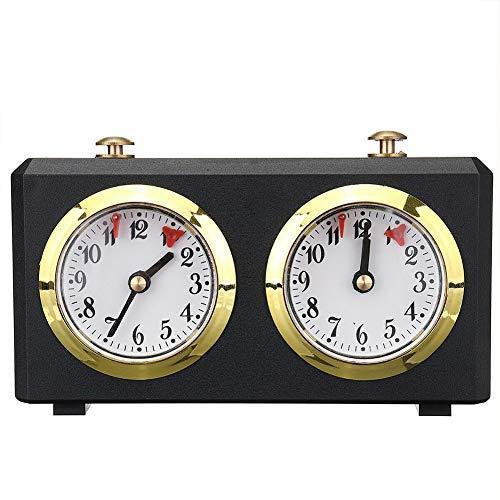 Ganquer Reloj de Ajedrez Juego Temporizador Profesional Compertición Portátil Regalo I-Go Conde Levantado Abajo - como Cuadro Show, 1 pc