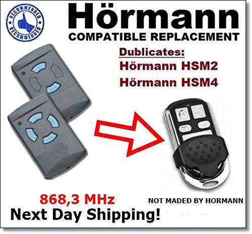 Hormann HSM2, HSM4868Fernbedienung kompatibel hochwertigem 868,3MHz