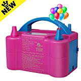 Best Balloon Pumps - Balloon Pump Electric Air Inflator ETL Approved Dual Review