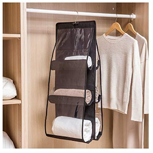 Hanging Purse Organizer, Breathable Nonwoven Handbag Organizer, Dust-Proof...