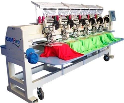 CAMFive CFHS-CT1506 10H 6 heads, 15 needle embroidery machine, free onsite installation & training...