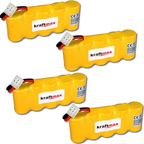 kraftmax 4X Akku für Bosch SOMFY K8 K10 K12-6V / 2000mAh NIMH - Hochleistungs- Akku mit über 42% mehr Leistung gegenüber den Akku mit 1400 mAh