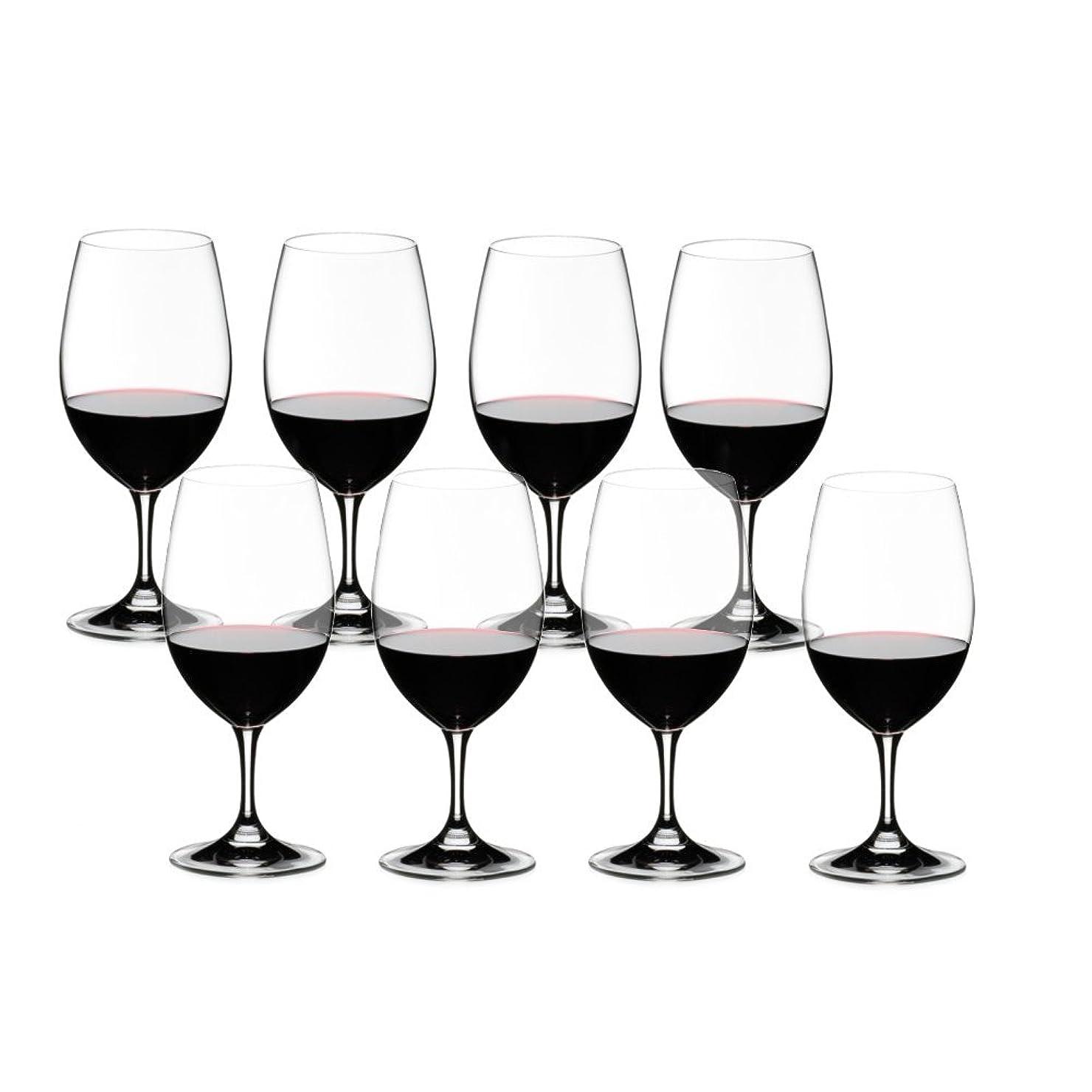 積極的に鳥流暢[正規品] RIEDEL リーデル 赤ワイン グラス 8個セット オヴァチュア マグナム 530ml 7408/90