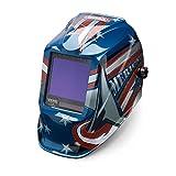 Welding Helmet, American Flag Graphic
