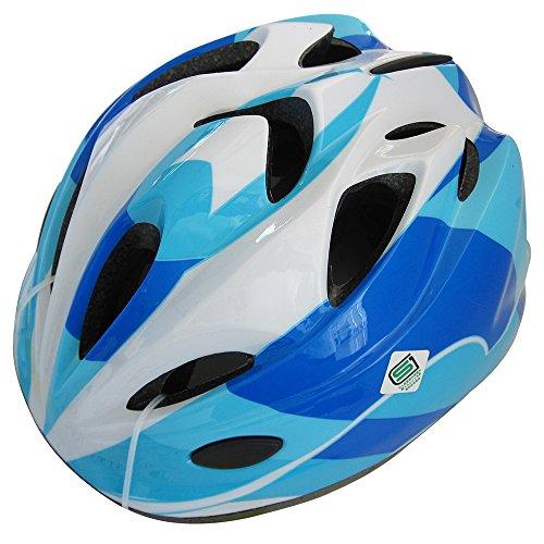 SAGISAKA(サギサカ) 自転車 ヘルメット ジュニアヘルメット スタンダードモデル Mサイズ ブルー 88736
