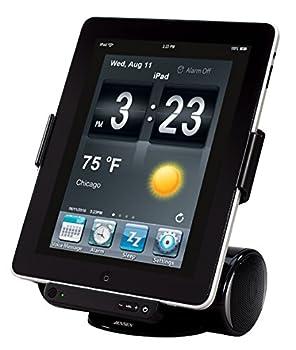 Jensen JiPS-250i Docking Station for iPad iPod and iPhone  Black