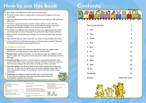 Numbers Ages 3-5: Reception Maths Home Learning and School Resources from the Publisher of Revision Practice Guides, Workbooks, and Activities. (Collins Easy Learning Preschool)