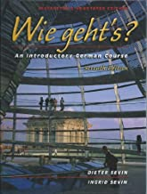 Wie geht's? An Introductory German Course Seventh Edition (Instructor's Annotated Edition) by SEVIN (2002-11-15)