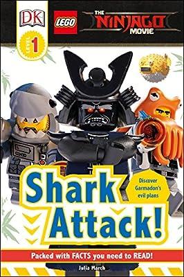 DK Readers L1: The LEGO® NINJAGO® MOVIE : Shark Attack! (DK Readers Level 1)