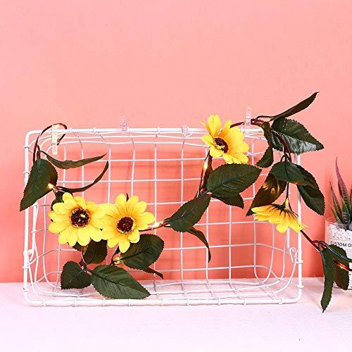 Sturdy Original Artificial Light String, Vivid Sunflower Light String, for Home Display Bedroom(Warm White)