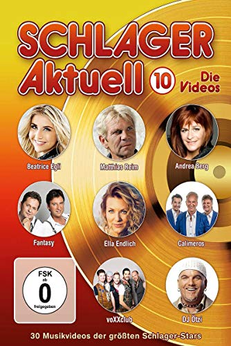 Various Artists - Schlager aktuell 10: Die Videos