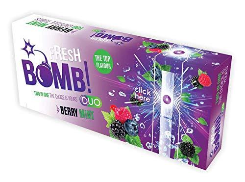 Lot de 5 boîtes de 500 tubes avec capsules aromatiques Fresh Bomb Purple Click