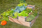 Planter-Composter wooden box