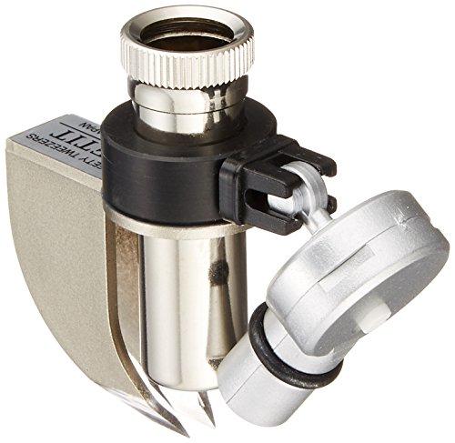 TSK とげ抜き用ルーペ 倍率15倍 レンズ径12mm LEDライト付き ST-15LED