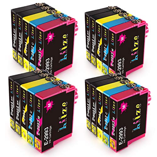 Hitze 29XL Compatible para Epson 29 29XL Cartucho de Tinta para Epson Expression Home XP 342 XP 255 XP 245 XP 332 XP 247 XP 442 XP 352 XP 345 XP 235 XP 335 XP 355 XP 257 XP 432 XP 435 (20-Pack)