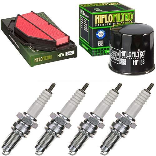 Filtro de aire, filtro de aceite, bujías para GSR 600, año de construcción 2006 – 2010, kit de mantenimiento