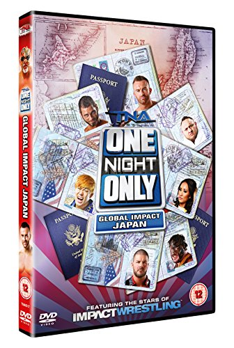 TNA One Night Only: Global Impact Japan 2014 DVD