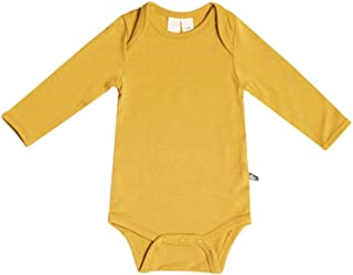 Organic Bamboo Rayon Bodysuit - Long Sleeve Unisex Bodysuit Available in a Rainbow of Colors