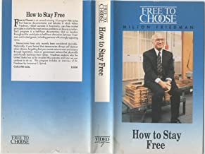 How to Stay Free By Milton Friedman ( VHS Tape ) (FREE TO CHOOSE)