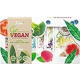 Set de Regalo de Baño para Mujer Un Kit de 7 Mascarillas Vegano Componentes Orgánicos Cuidado Complejo Todo Tipo de Piel Hidratación Antiarrugas | 7DAYS