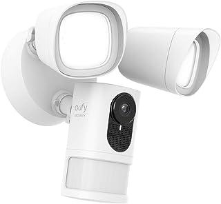 eufy Beveiliging schijnwerpercamera, 1080p, Real-Time Response, Geen maandelijkse kosten, Veilige lokale opslag, 2500-Lume...