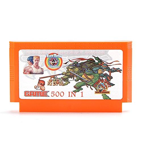 GOZAR 400 En 1 8 Bit Cartucho De Juego Salamandra Para Nes Fc