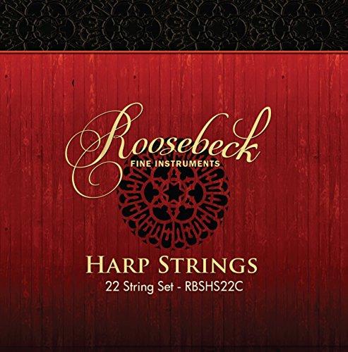 Roosebeck Harp String Set, 22, C - C