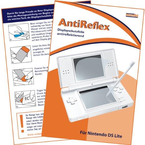 mumbi Schutzfolie kompatibel mit Nintendo DS Lite Folie matt, Displayschutzfolie (1x)