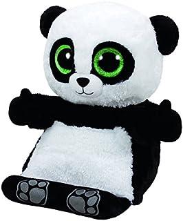 24?cm Carl etto Ty 37088?-?Boom Boom?-?Panda and Glitter Eyes Glub Slide Beanie Boos Purple//White by Carletto Ty