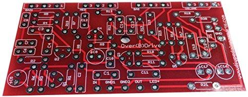 DIYPedalGearParts PCB Over(B) - Pedal de efecto vintage para guitarra eléctrica