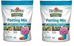 Organic potting mix.
