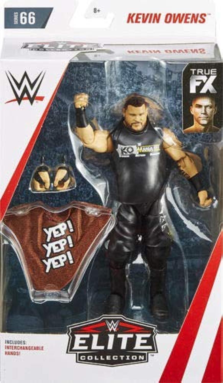 colores increíbles Kevin Owens Persecución Versión WWE WWE WWE Elite Figura Lucha Libre Mattel Serie 66  promociones emocionantes