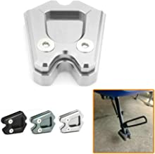 Heinmo Kickstand Sidestand Stand Extension Enlarger Pad For Piaggio Vespa GTS GTV 300ie For Vespa Sprint LX (Not for GTS 300 or GTV 300) (Silver)