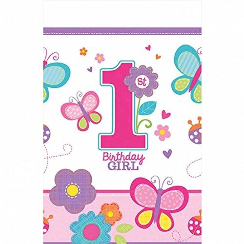Nappe anniversaire petites filles Décoration de table anniversaire d'enfant linge de table Nappes lavables fête fille nappé décoration fêtes pour fillettes Accessoires anniversaires des enfants
