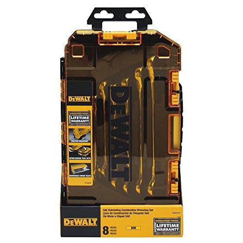 DEWALT DWMT74734 || 8-Piece Combination Ratcheting Wrench