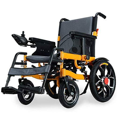 WLMGWRXB Rolstoel, Rolstoel voor gehandicapten Ouderen Vierwielige Elektrische Rolstoel Scooter, Vouwen Lichtgewicht Intelligent Automatic, Lading 150kg, Vermogen 250W