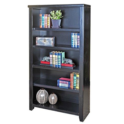 Martin Furniture Tribeca Loft Black Bookcase, 60