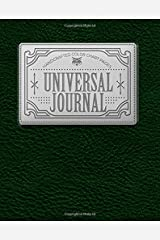 """Universal Journal: Handcrafted Color Chart Journal, 75 Single Sided Pages, 8""""x10"""" (Volume 1) Paperback"""